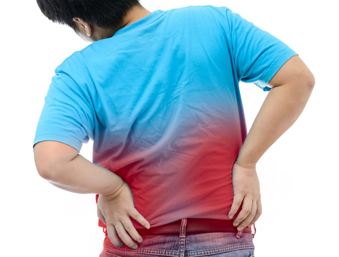 back pain in kids
